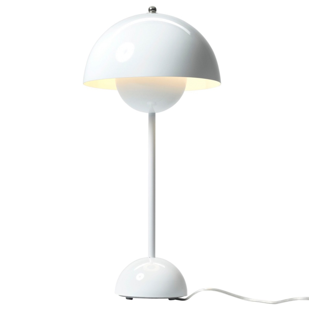 & Tradition Flowerpot Table Lamp - VP3 -White
