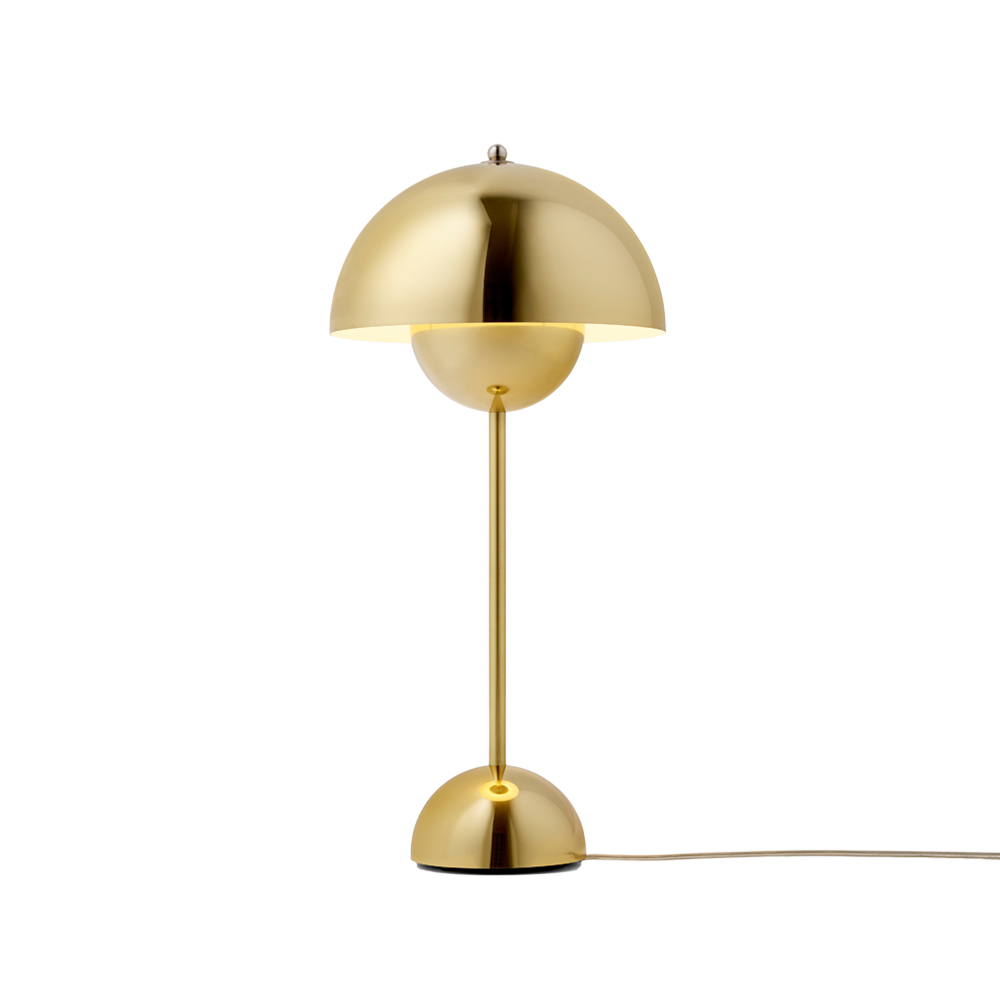 Flowerpot Table Lamp - VP3 - Polished