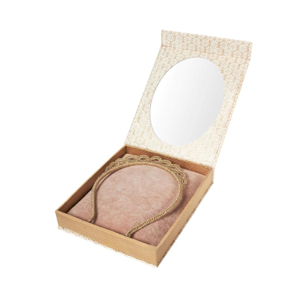 Maileg Presentbox Tiara Guld