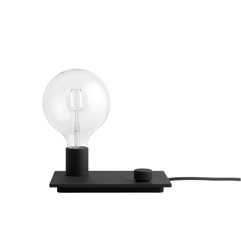 Muuto Control Lamp - Black LED