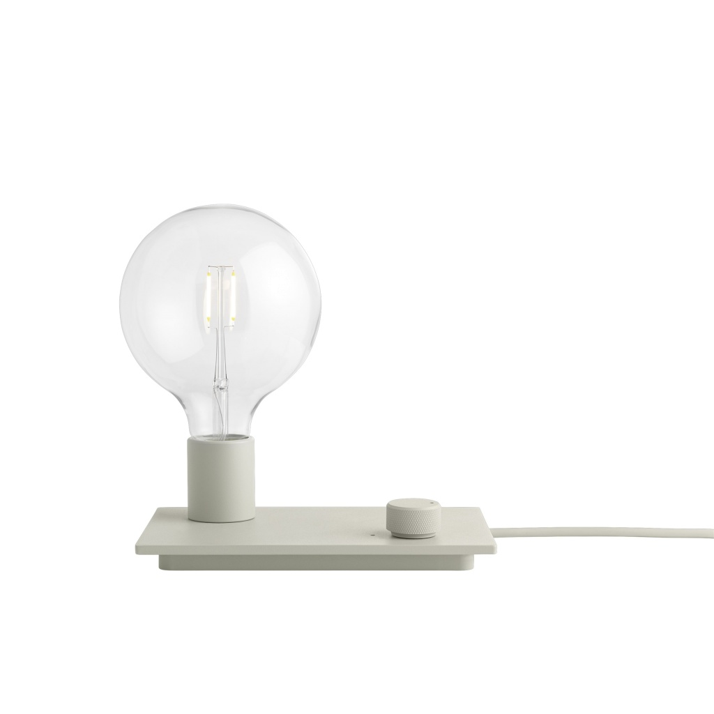 Muuto Control Lamp - Grey LED