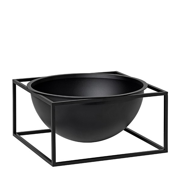 By Lassen Kubus Bowl Centerpiece Large Black 98e88c52edf15