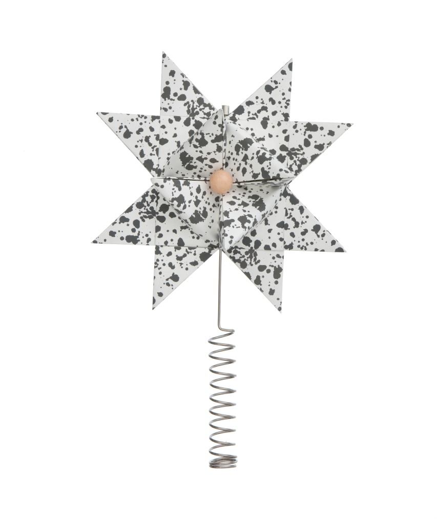 Ferm Living Christmas Toppstjärna Grey-Splash