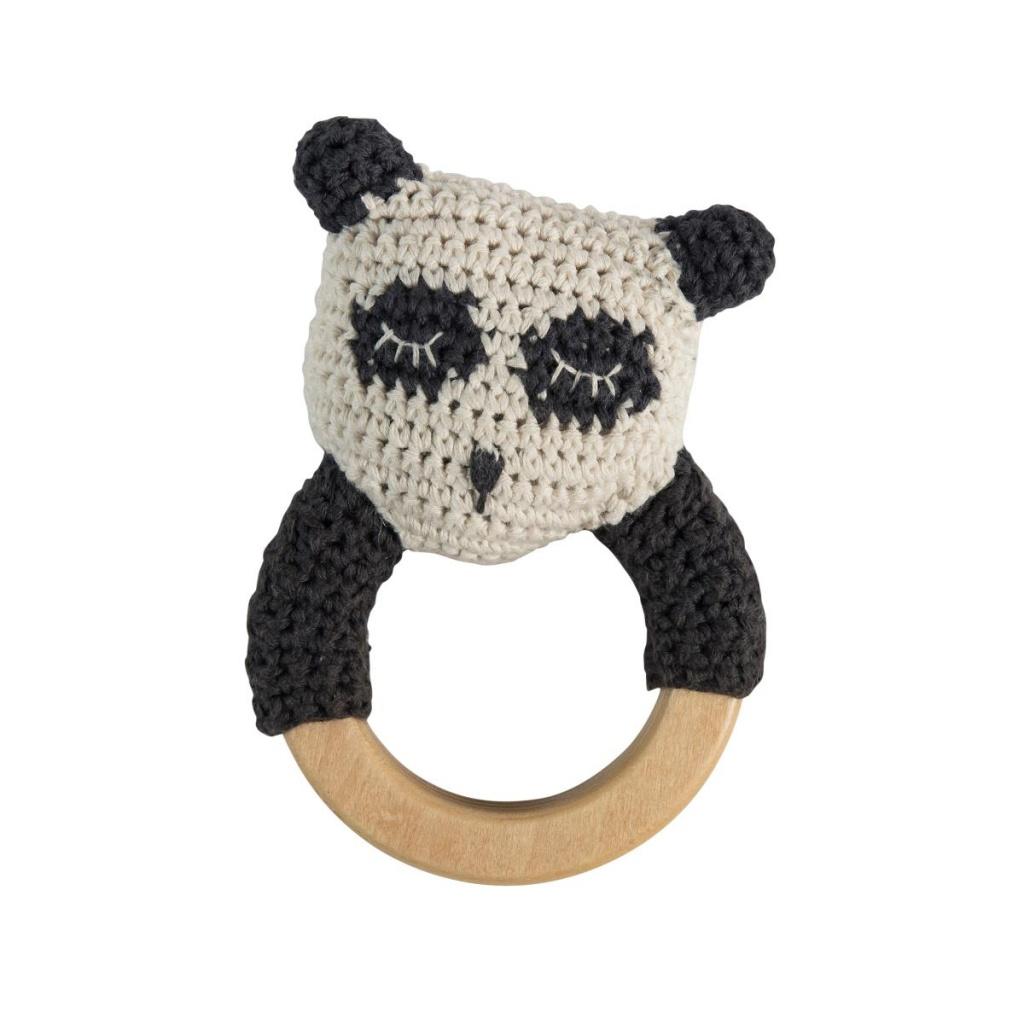 Sebra Skallra Panda Svart/Vit