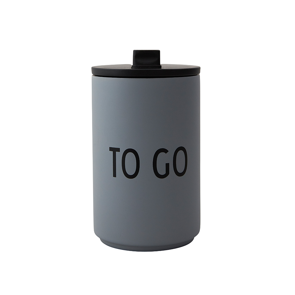 Design Letters Thermo Cup - To Go Grey