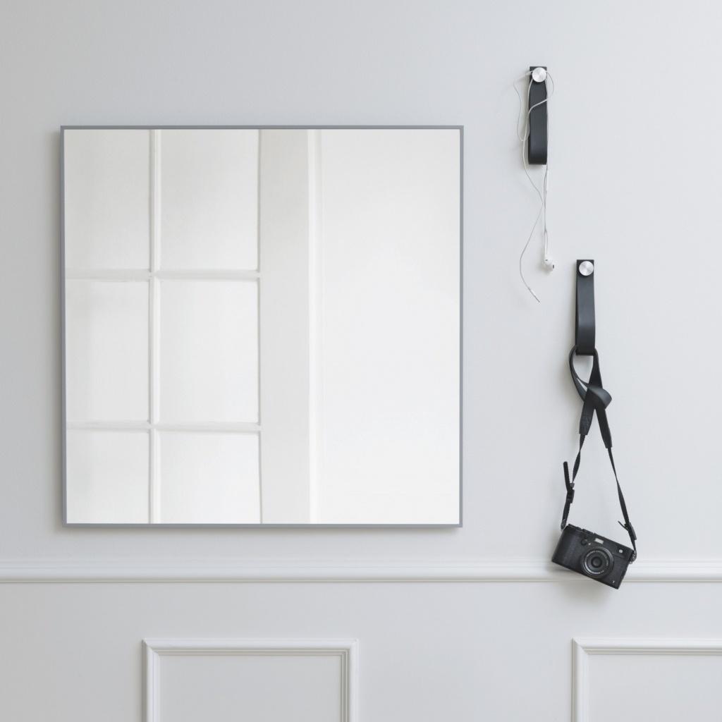 By Lassen View Spegel 70×70 cm Cool Grey