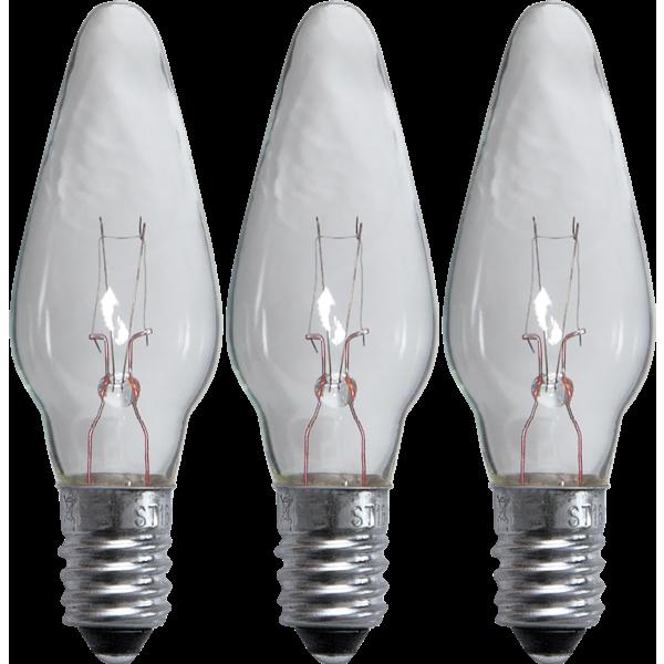 Reservlampa 7 ljus 3-pack