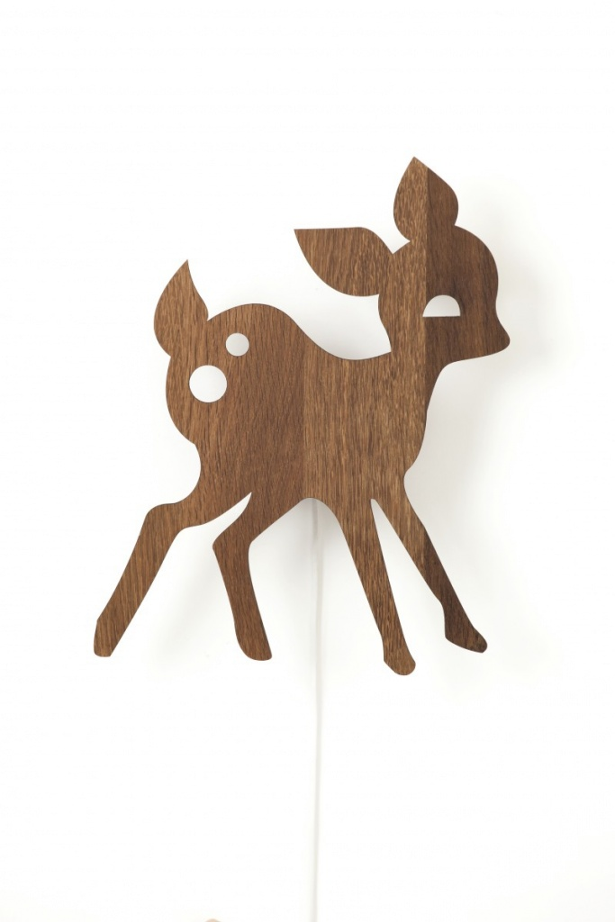Ferm Living Lamp My Deer Smoked Oak