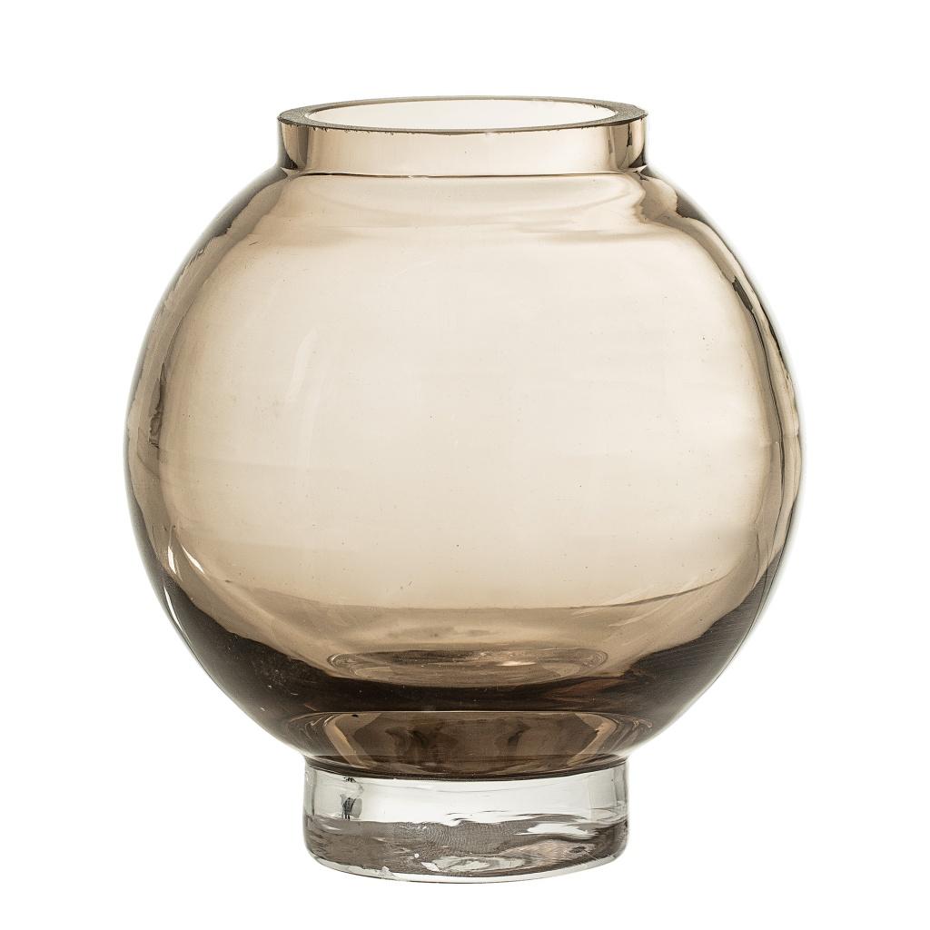 Bloomingville Vas Brun Glas H12,5cm