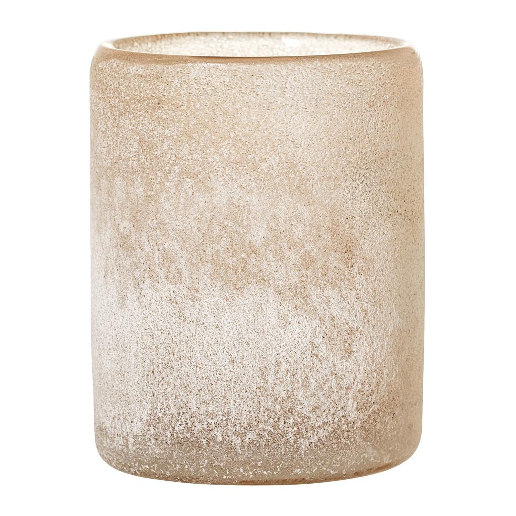 Bloomingville Ljuslykta Brun Glas