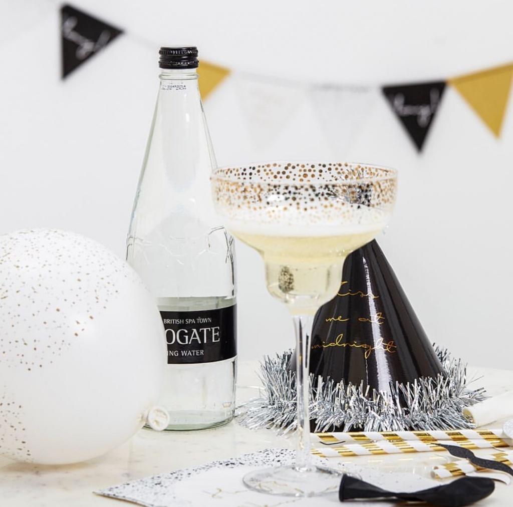Bloomingville Champagneglas