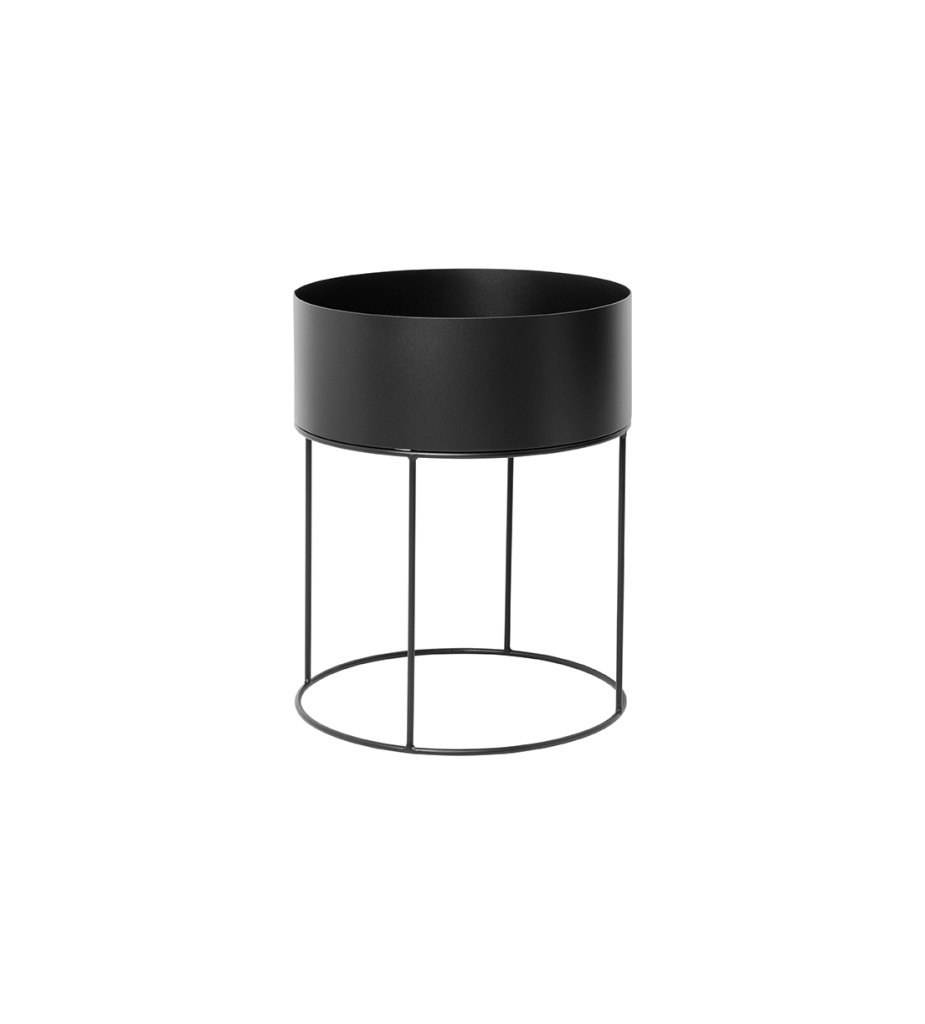 Ferm Living Wall Box Round Black