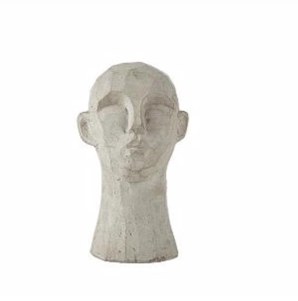 Villa Collection Skulptur Huvud H15cm  Betong
