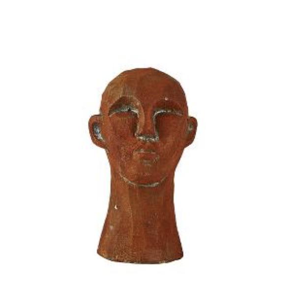 Villa Collection Skulptur Huvud H15cm Brun
