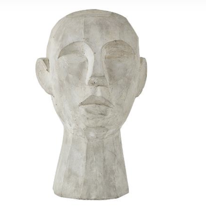 Villa Collection Skulptur Huvud H30cm Betong