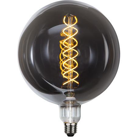 Ljuskälla LED-lampa E27 6 W Smoke Glas 200 mm