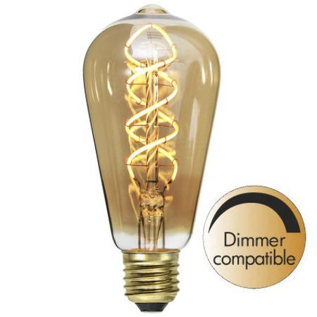Ljuskälla LED-lampa E27 3,8W