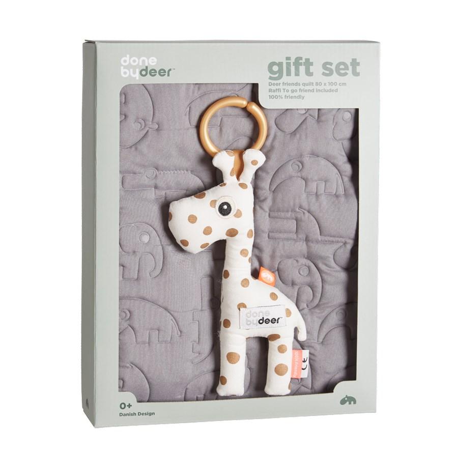 Done by Deer Gift set Filt+leksak