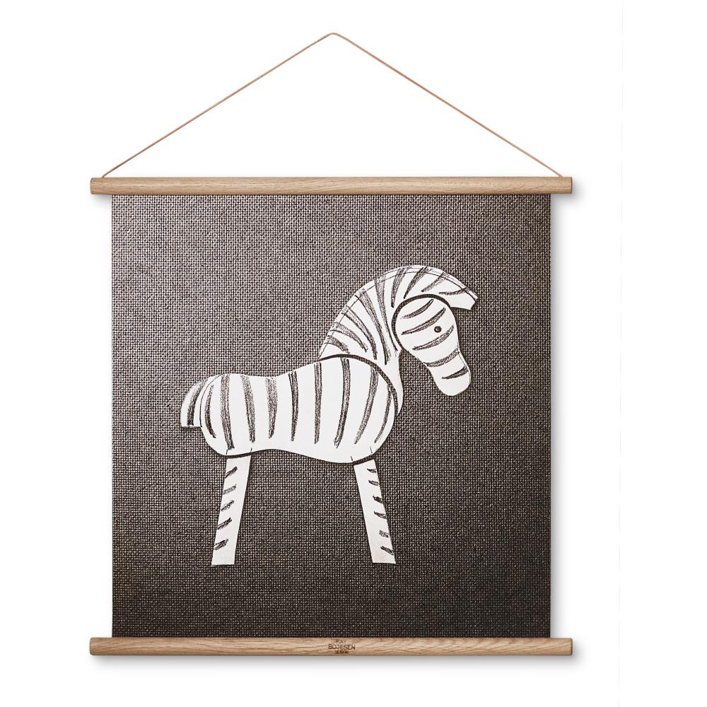 Kay Bojesen Canvastavla Zebra