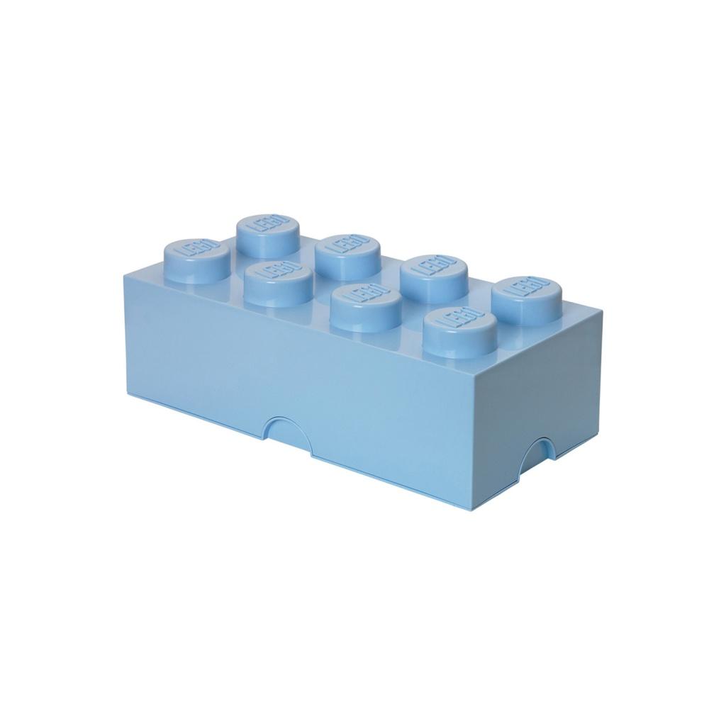LEGO Förvaring Låda 8 Ljusblå