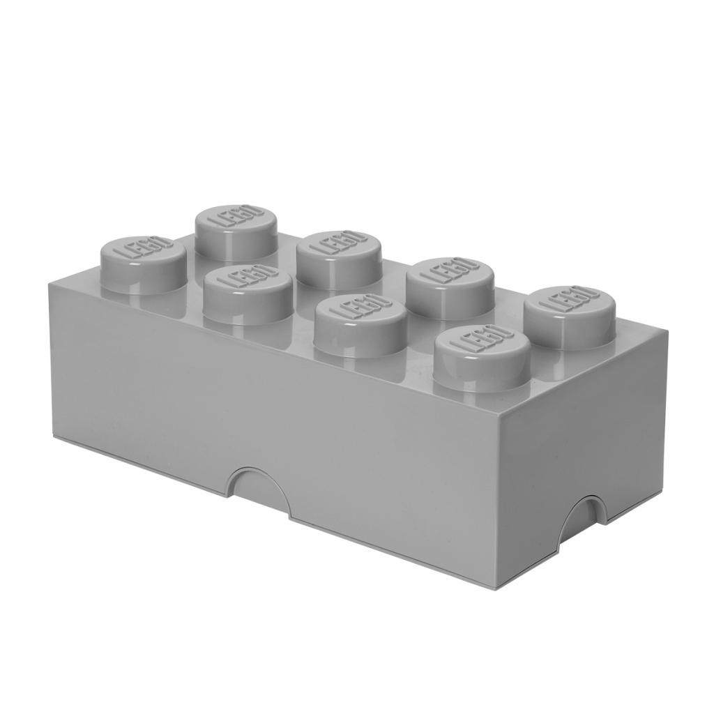LEGO Förvaring Låda 8 Grå