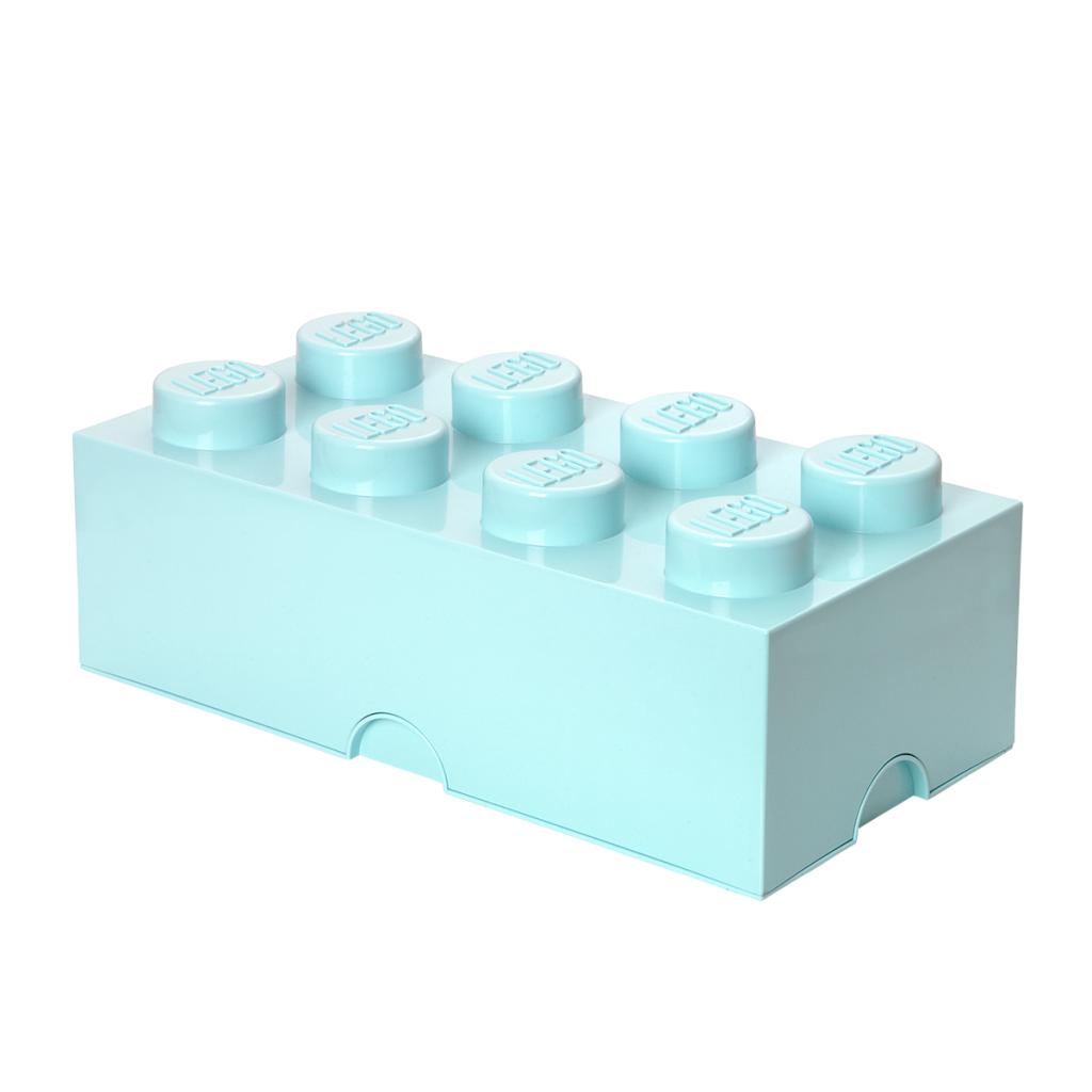 LEGO Förvaring Låda 8 Aqua