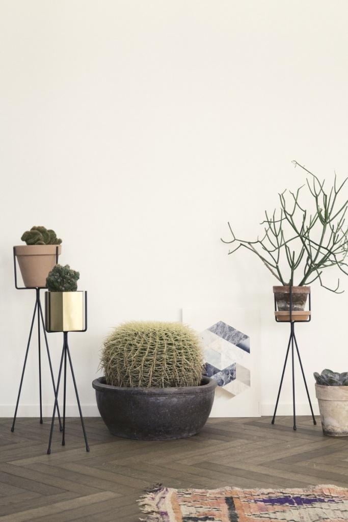 Ferm Living Plant Stand 65 cm - Black
