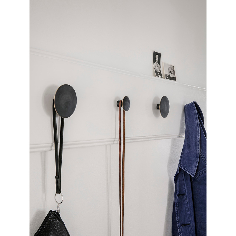 Ferm Living Hook Black/Brass Small