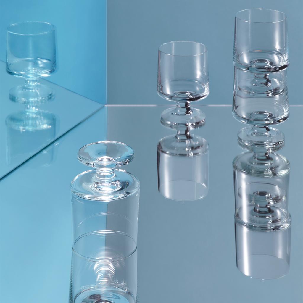 Holmegaard Stub Glas 21 cl 4-pack