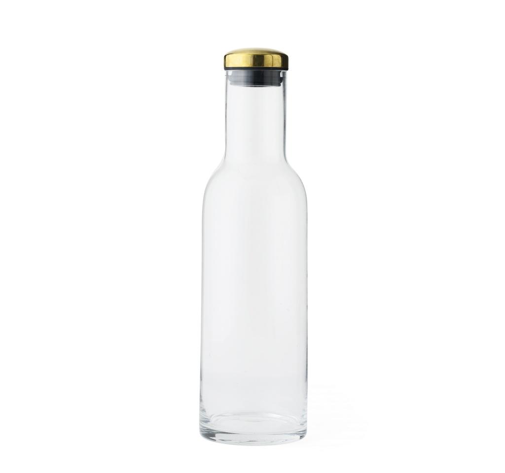 Menu Bottle Carafe Brass 1L
