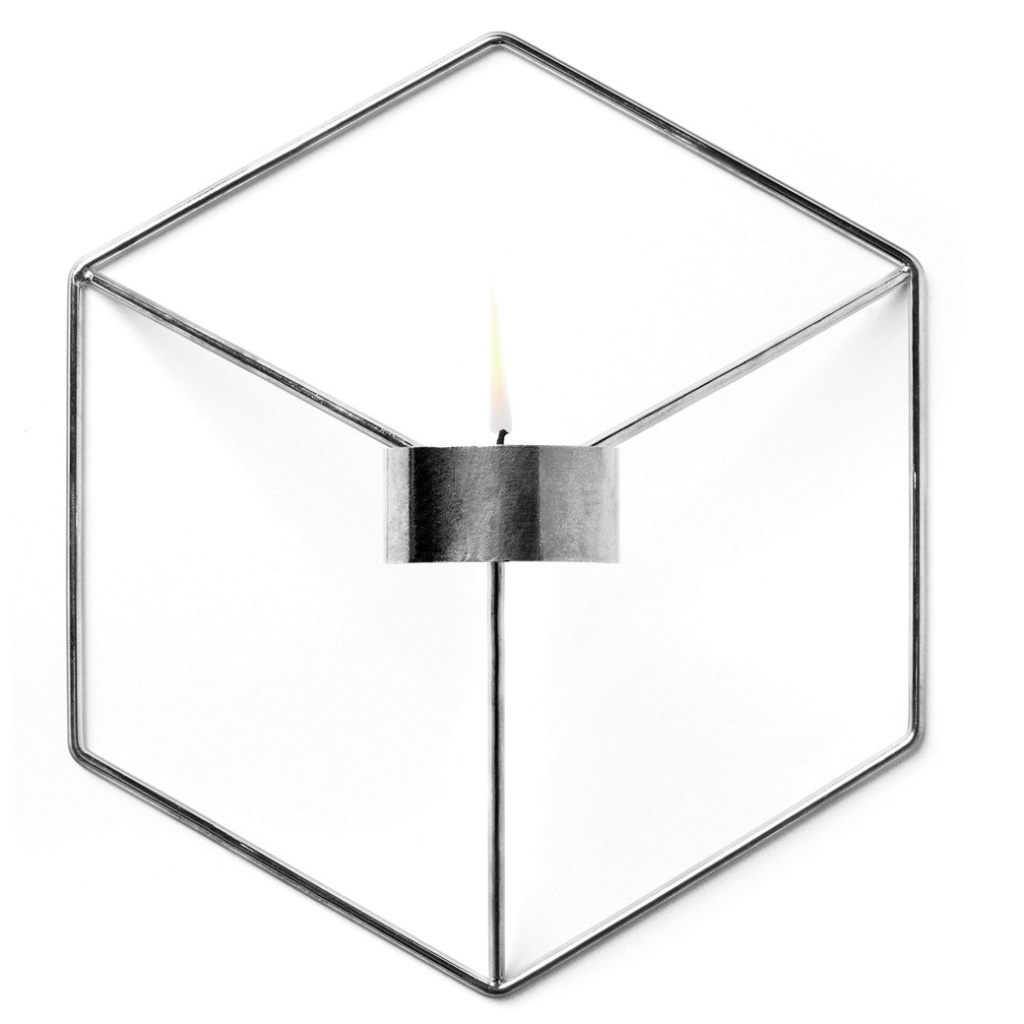 Menu POV Candleholder Wall Chrome