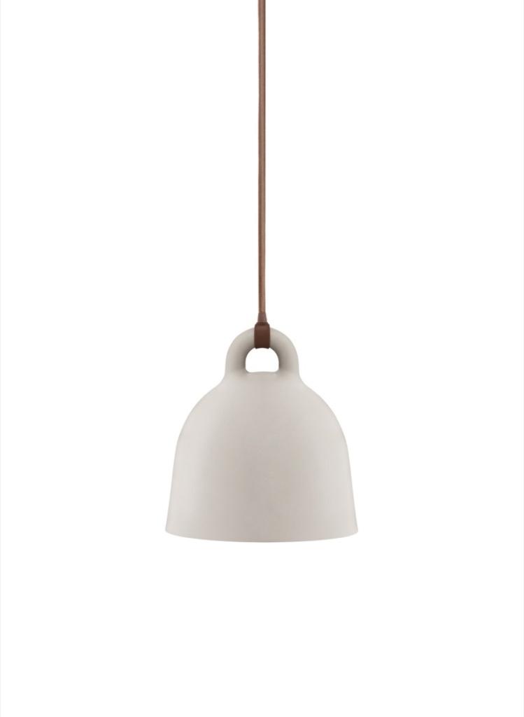 normann Copenhagen Lampa Bell Sand X-small