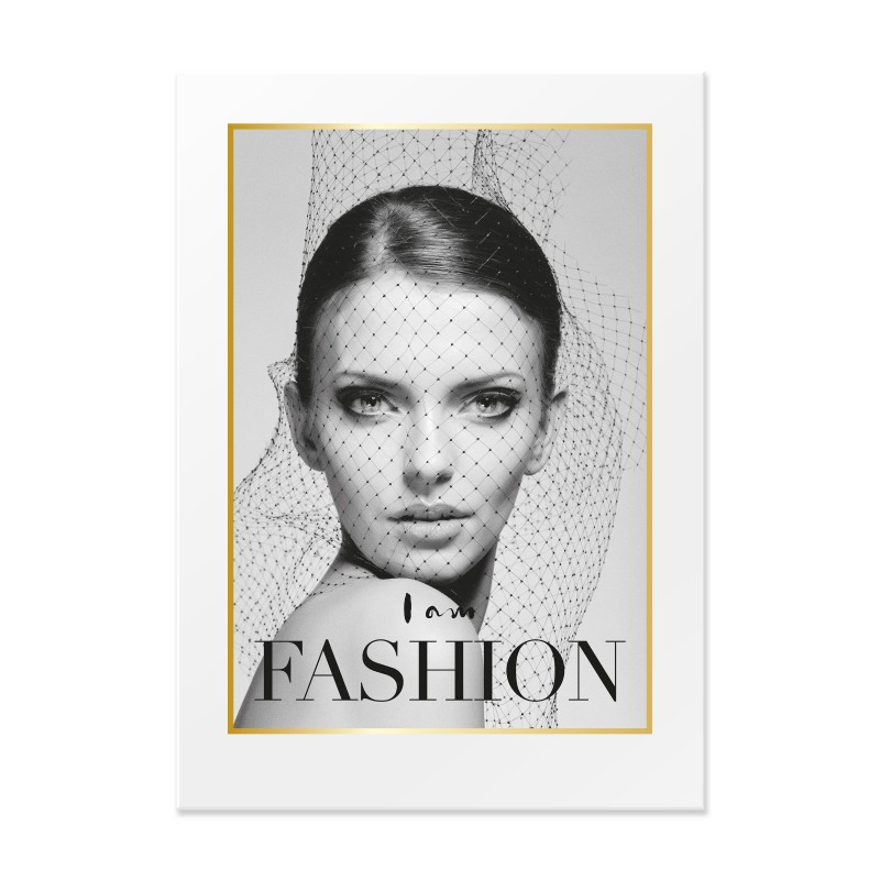 By On Poster I am Fashion 50x70 cm