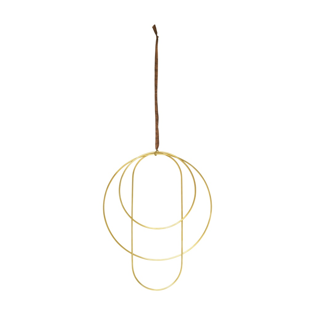 Ferm Living Deco Frames Brass