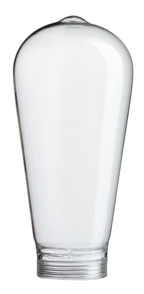 Ljuskälla Glas klar 130 mm