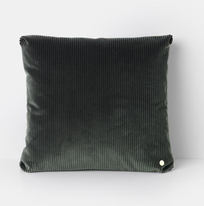 Ferm Living Corduroy Chusion 45x45cm Green
