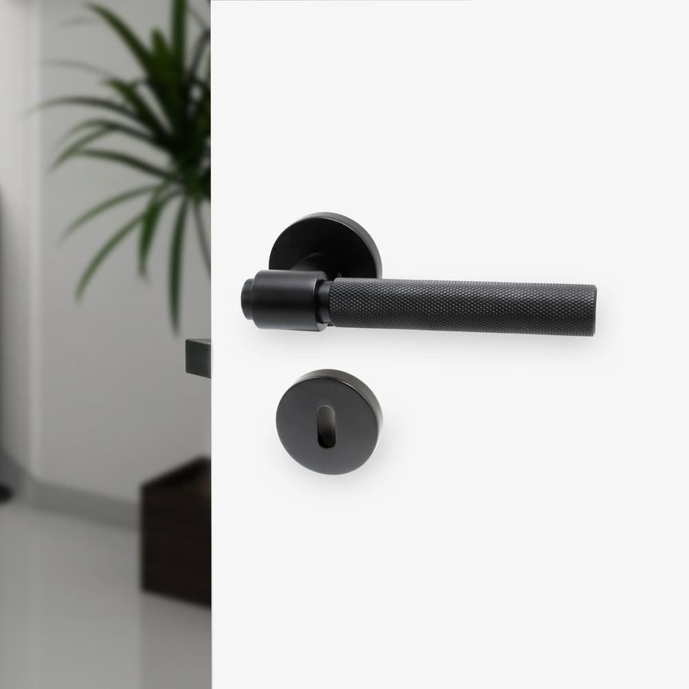 Beslag Design Toalettvred Svart
