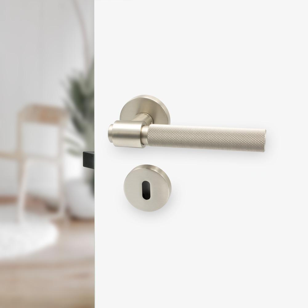 Beslag Design Toalettvred Rostfri Look
