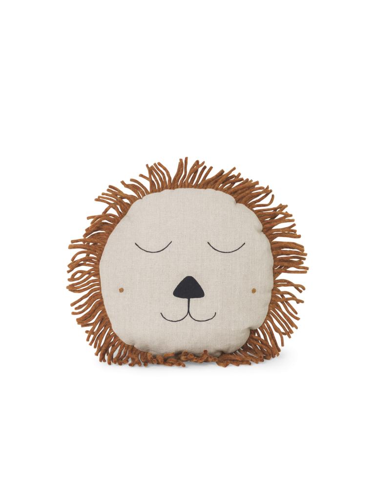 Ferm Living Safari Cushion Lion Natural