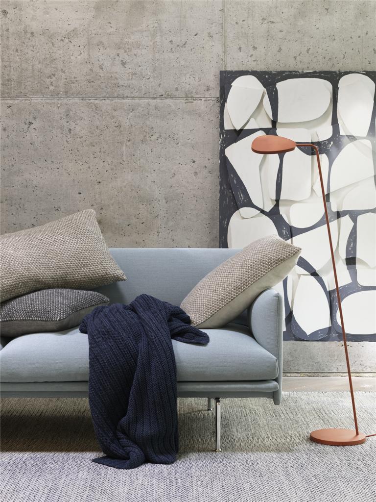 Muuto Twin Cushion 40x60 Beige Grey