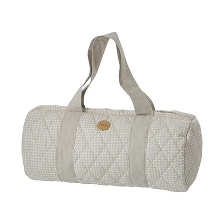 Ferm Living Grey Cross Duffel Bag