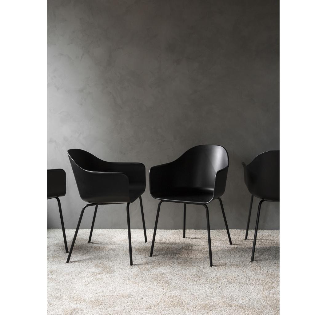 Menu Harbour Chair Black/Steel Black