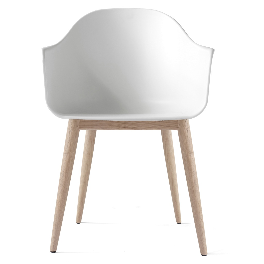 Menu Harbour Chair White/Wood base