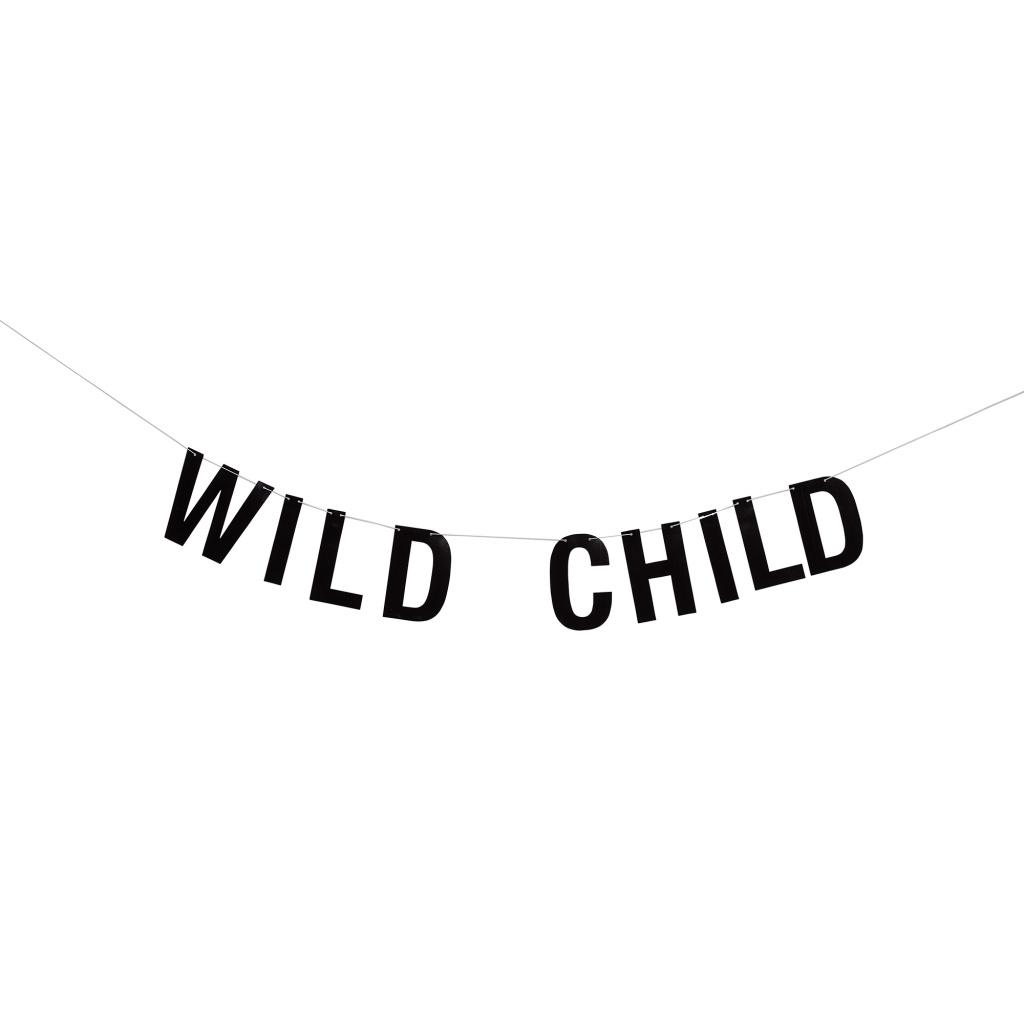 Bloomingville Girlang Svart Wild Child