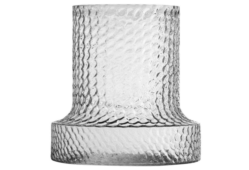 Skrufs Glasbruk Kolonn Vas Stor 30 cm