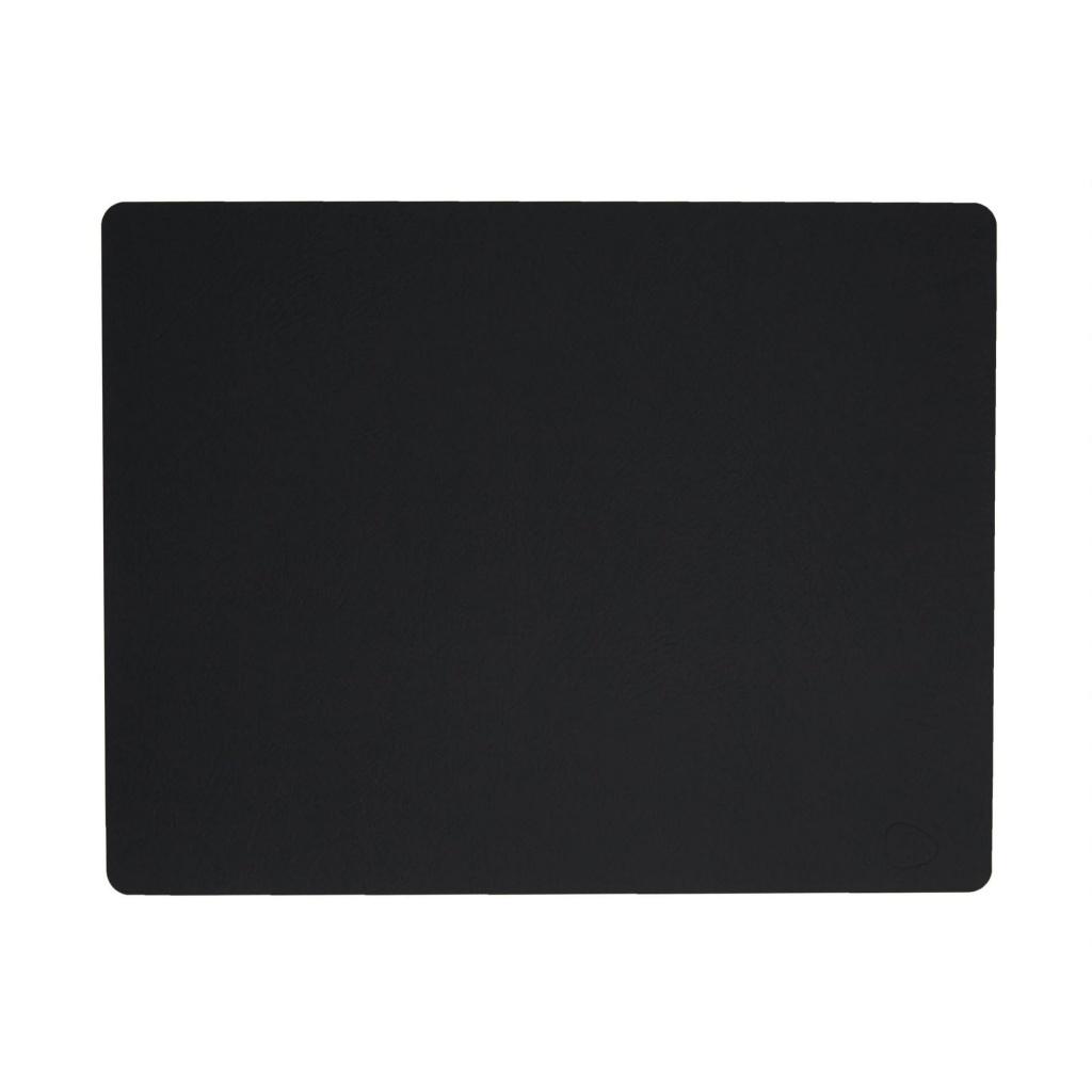 Lind DNA Bordstablett Square 35x45 cm Softbuck Black