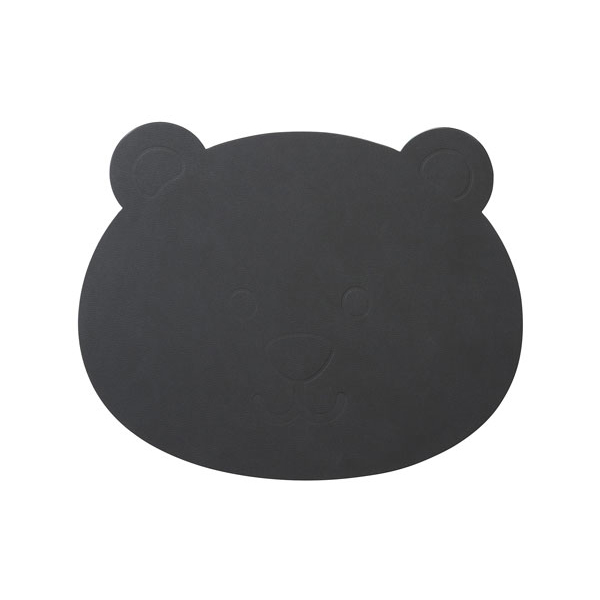 Lind DNA Bordstablett Bear 38x30 cm Nupo Anthracite