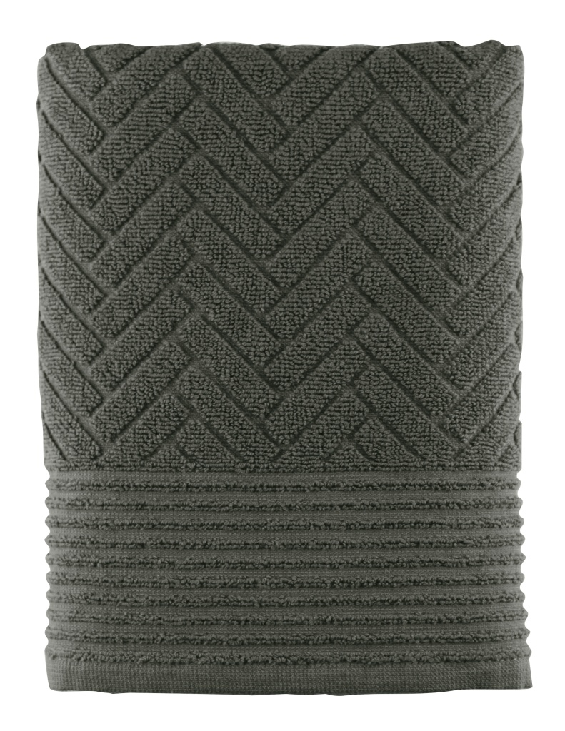 Mette Ditmer Brick Handduk 70x133 cm Dark Olive