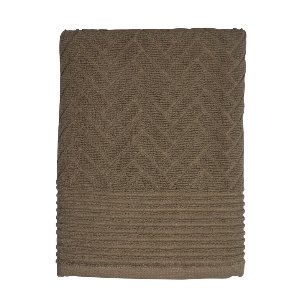 Mette Ditmer Brick Handduk 70x133 cm Bronze