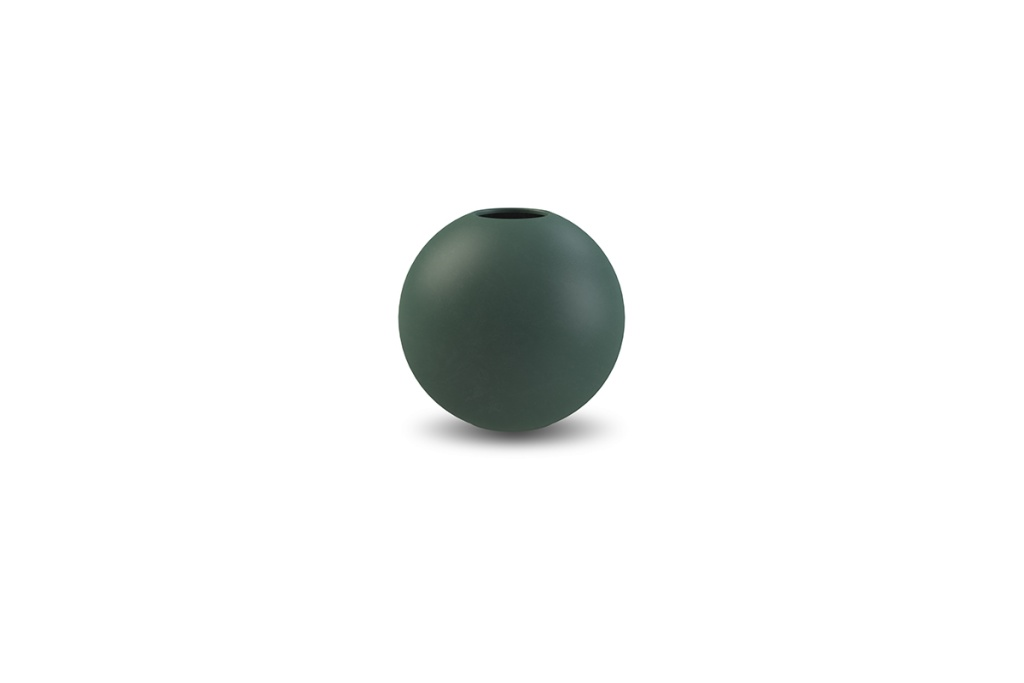Cooee Design Ball Vase Dark Green